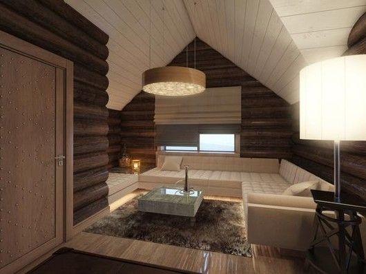 后现代原木别墅 效果表现 达人室内设计网 精品装修软装室内设计 中国