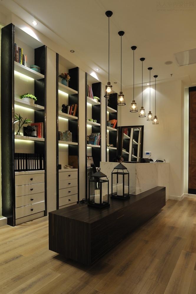 瓷砖店面展厅效果图-无锡安然地板店面展厅 无锡丄和设计