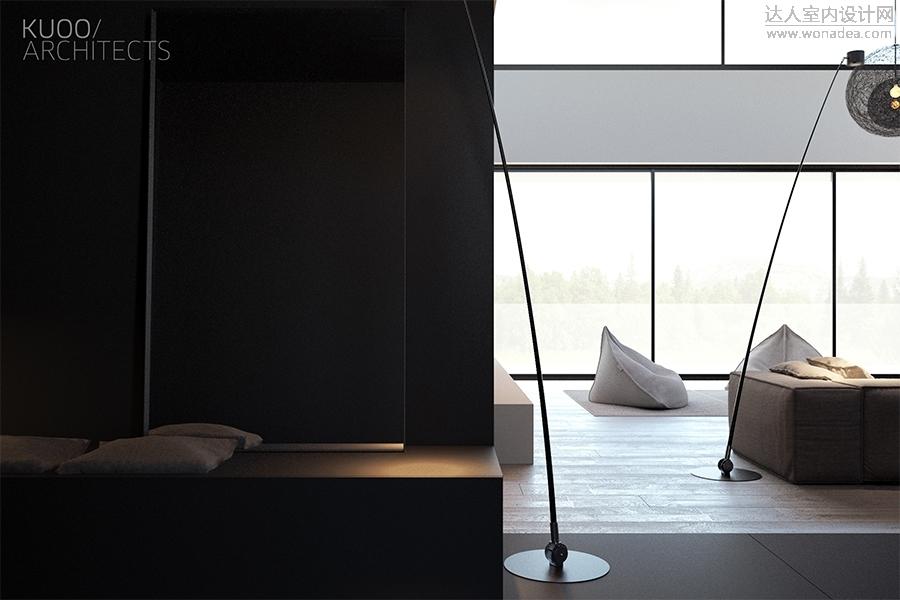 kuoo architects设计--todz 280㎡公寓