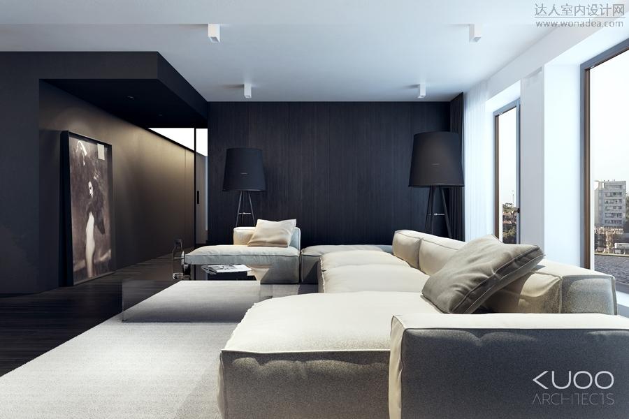 kuoo architects设计--Bielsko-biata 167㎡公寓