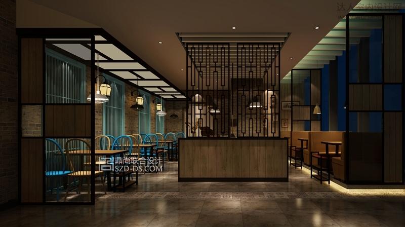 合肥老芗汇火锅店餐厅室内装潢设计(悦方店)
