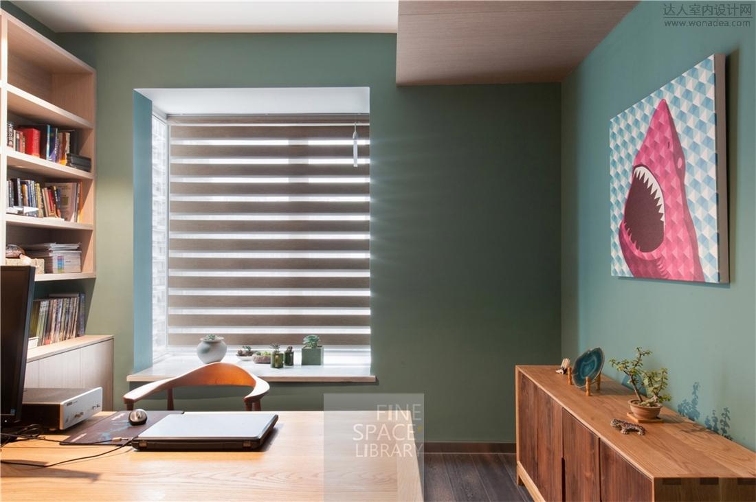 DSC_4022 安静蓝与木质的暖,带着一份舒缓、清晰、静谧、浅浅的禅情。.jpg.jpg