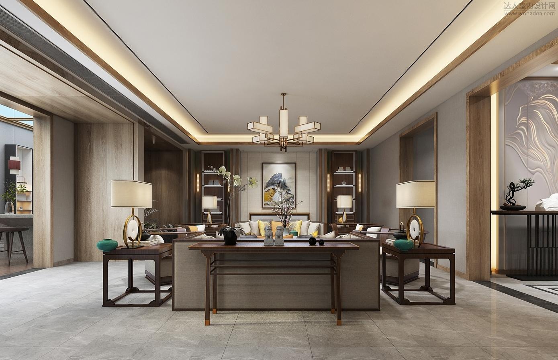 壹舍设计--别墅豪宅新中式 - 概念方案 - 达人室内网