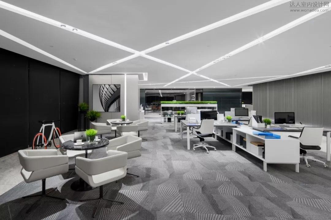 广州置美优合设计--保利鱼珠A1栋首层大堂与办公样板间