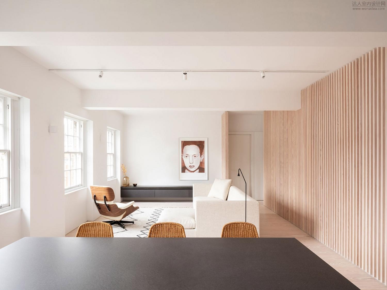 Proctor & Shaw--Marylebone公寓室内改造