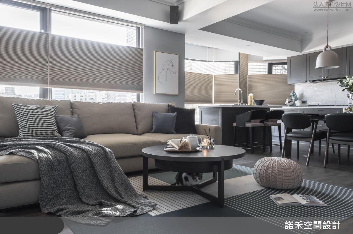 諾禾設計--誰說留白的空間沒有溫度,他都做到了!