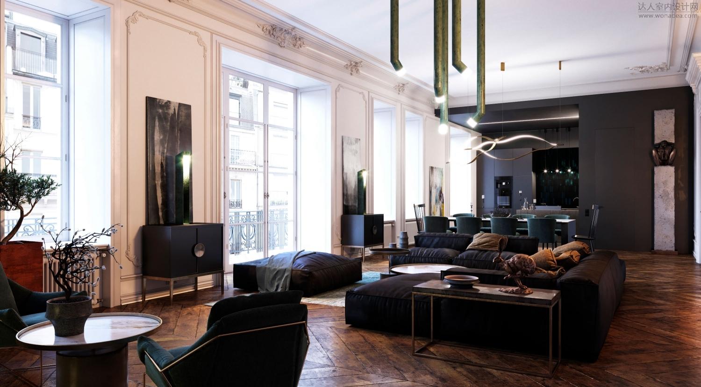 【首发】Dmitry Grinevich--apartment-in-rouen