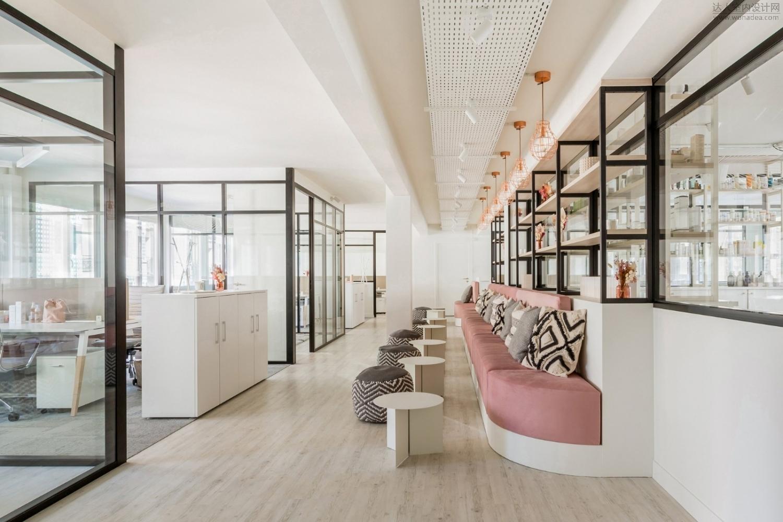 Factory Amenagement--巴黎美容品牌Oh My Cream办公室