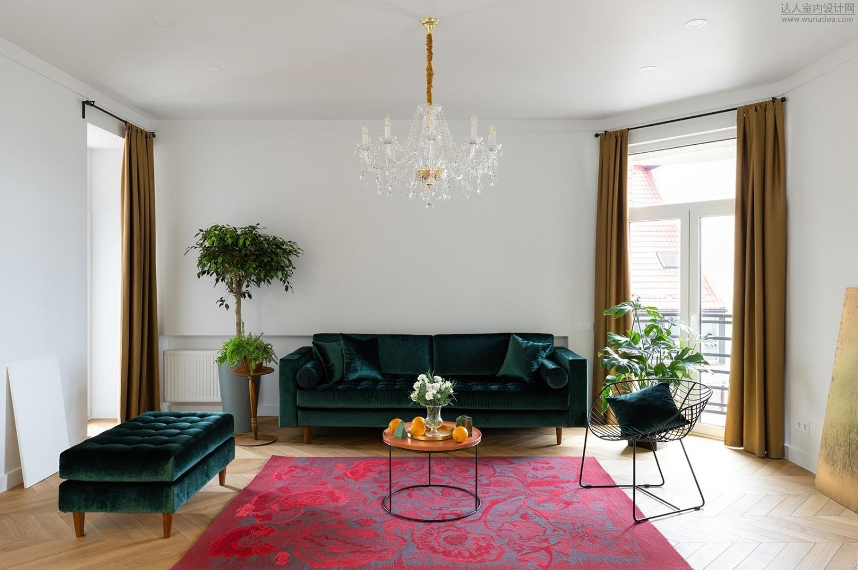 MalyKrasota design--基辅76m²怀旧风公寓