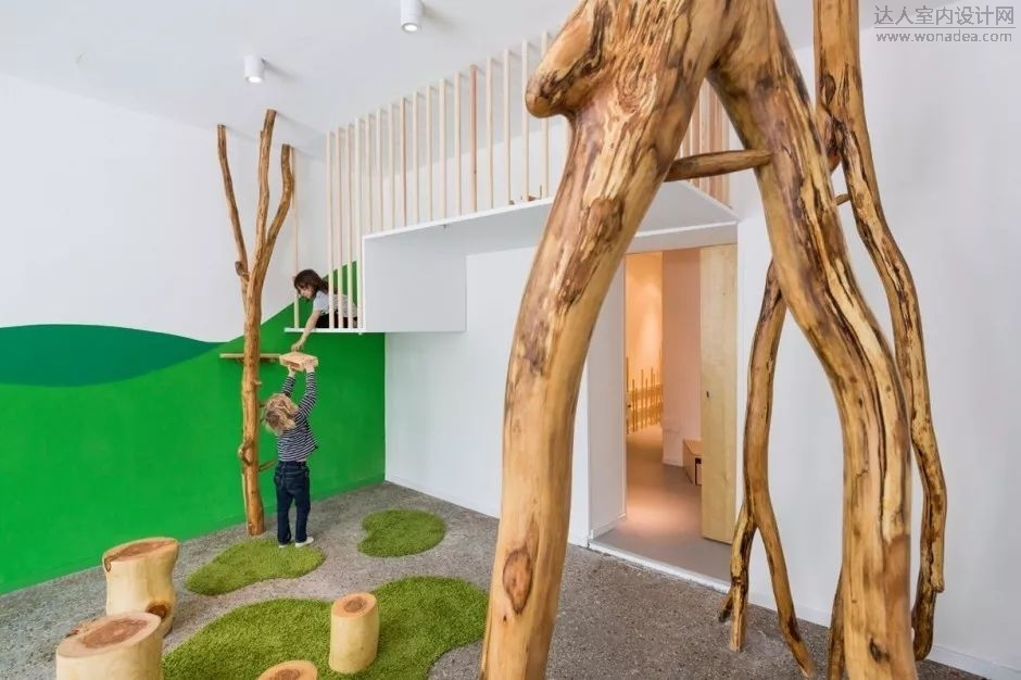 德国自然主题幼儿园设计