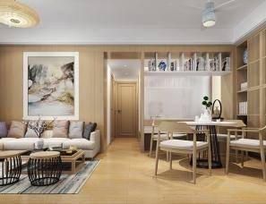 昊然设计--香港银湖天峰6B,93㎡平层