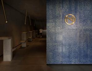 自由思考设计--现代新茶饮空间-广州摩乐茶