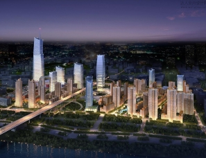 武汉天地壹方北馆公园式主题商业空间设计赏析