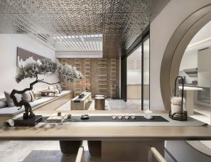 本则设计--郑州中海盛唐坊别墅样板房