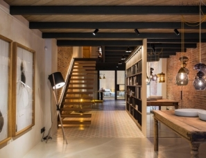 Meritxell Ribé - The Room Studio设计--巴塞罗那工业风办公室