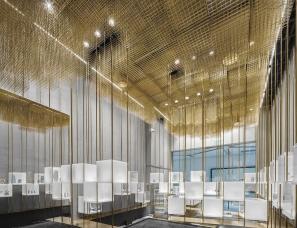 木又寸建筑设计--黄金云下的设计师品牌配饰集合店