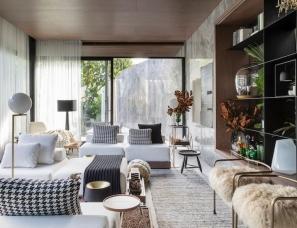 Très Arquitetura--巴西99㎡旧谷仓改造的现代度假住宅