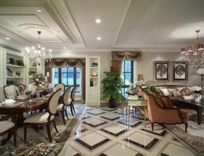 戴昆设计--枫丹白露-远洋万和城法式大宅样板间