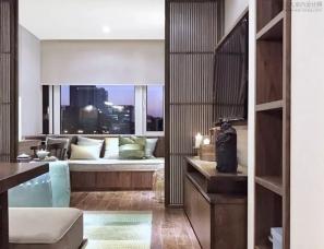 《梦想改造家》赖旭东设计--温馨小婚房 60㎡ 新中式