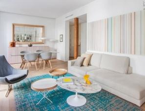 Lucas y Hernández-Gil 设计--马德里明亮舒适的公寓