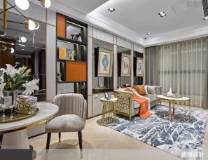 造陽設計--鎏金泛彩經典橘,演繹法式精品時尚宅