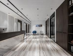 【刘文中室内设计】——泰州中兴大厦500㎡办公室