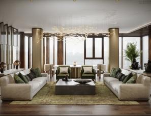 Tanya Minina设计--俄罗斯私人公寓