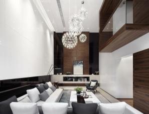 尚诺柏纳空间设计-保利叁仟栋C户型别墅