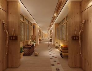 室内空间表现|走廊
