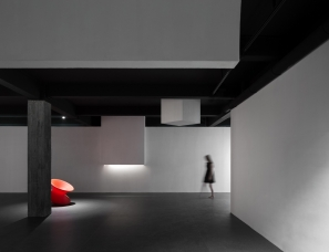 """艾克建筑设计--""""追梦""""生活艺术展厅"""