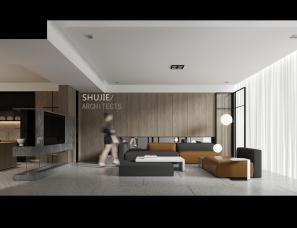 河北墅界装饰设计--居  保定未来城李宅