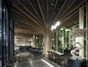 伊派设计--中建昭山印象新中式售楼处设计