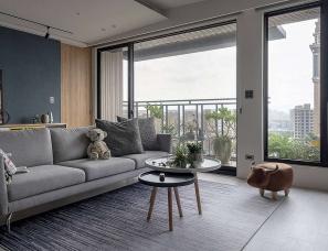 而沃设计--台湾现代风家庭住宅