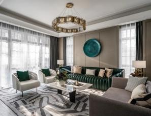 布鲁盟设计--遵义实地蔷薇国际平层/别墅样板房