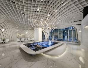 KLID达观国际设计--SKYNET售楼部