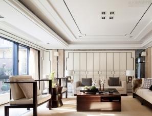 徐树仁设计--舟山风景合院样板房实景、方案、施工图