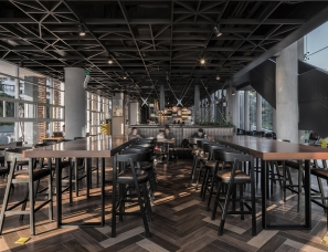 于强室内设计师事务所--深圳·半岛城邦一期会所改造