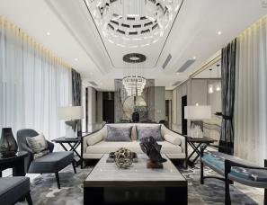 深圳大集意巢设计--信财置业绿岛湖项目合院别墅样板房