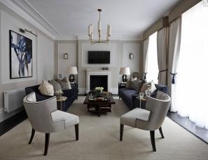 Boscolo Interior Design -- Family Home in West Hampstead