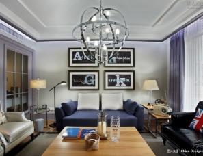 葛晓彪设计--上海浦东区世纪公园7号楼1502室