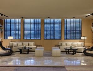 毕路德设计--青岛中海大厦售楼处