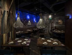 内建筑设计--鱼里餐厅