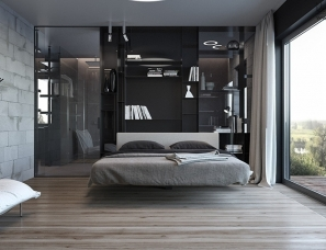Azovskiy Pahomova 设计--酷炫LOFT工业风
