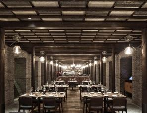 如恩设计--上海Capo意大利餐厅