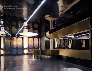 空与间建筑摄影:重庆iSeYa高空酒店