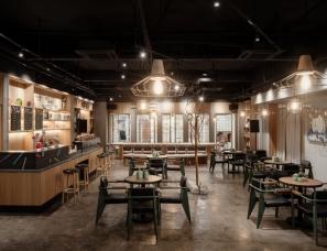 重庆于计设计 --重庆融创特钢咖啡吧会所