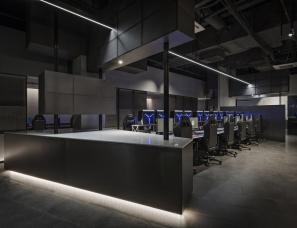 方楠设计顾问公司设计--蜂巢电竞俱乐部2.0