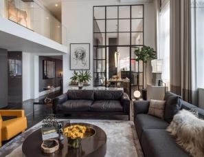 Kelly Hoppen 新作:精致生活丨伦敦肯辛顿-切尔西复式公寓
