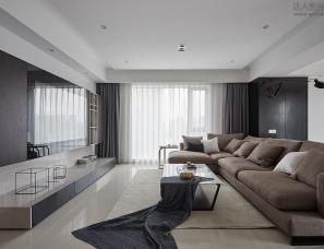杭州阿布设计--中央花城145平米