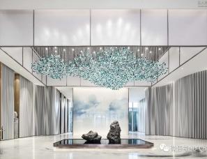 上海大研建筑设计--成都世茂 内江 璀璨悦府售楼处
